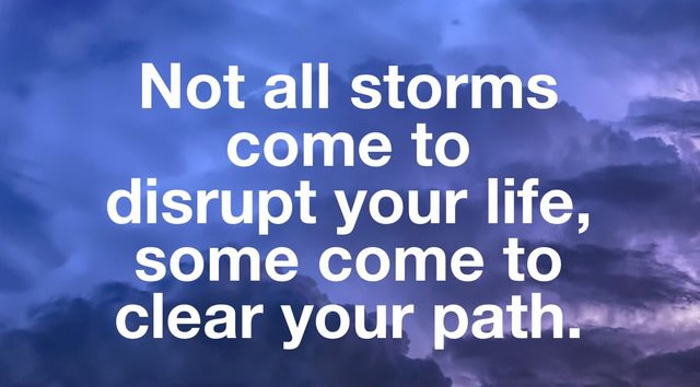 not all storms